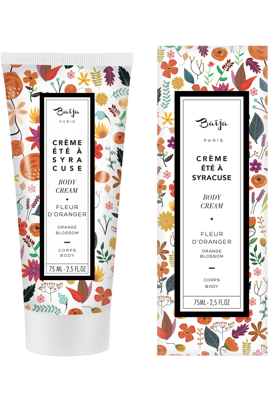 Blissim : Baïja - Crème Corps Été à Syracuse Fleur d'Oranger - Crème Corps Été à Syracuse Fleur d'Oranger