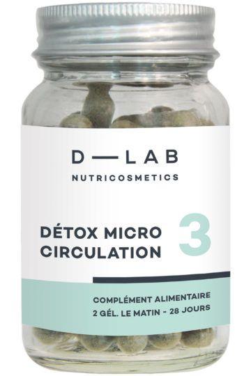 Compléments alimentaires Détox Microcirculation