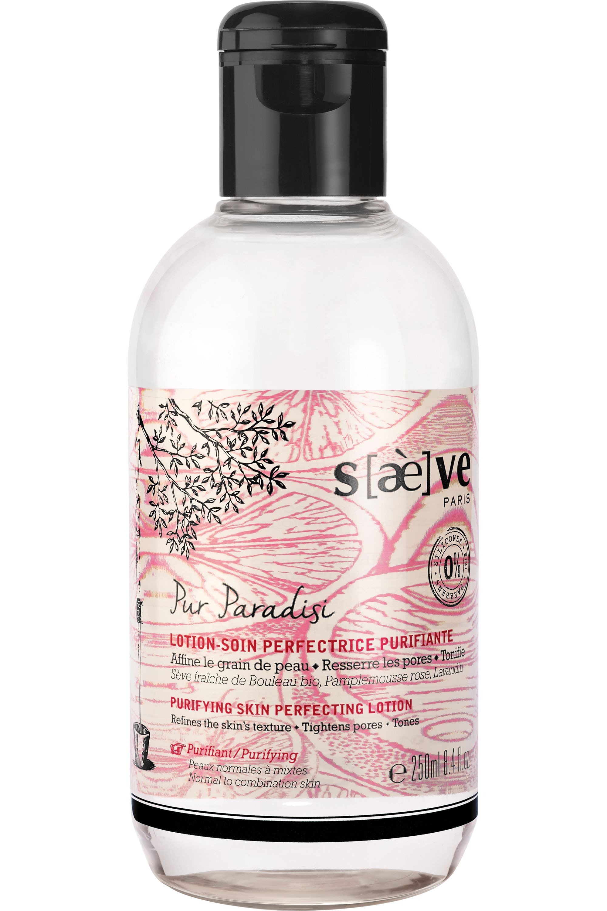 Blissim : Saeve - Lotion-soin perfectrice purifiante Pur Paradisi - Lotion-soin perfectrice purifiante Pur Paradisi
