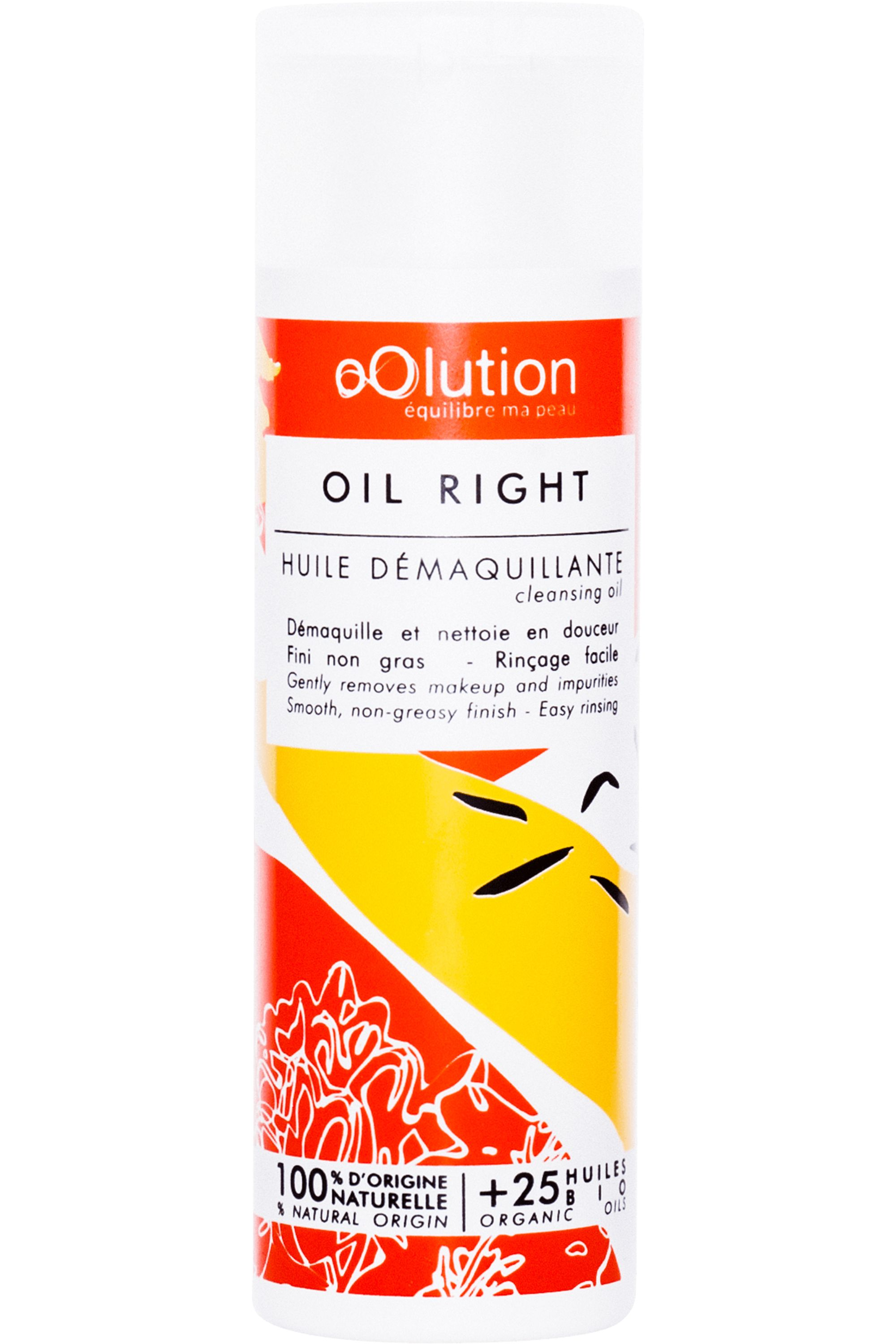 Blissim : Oolution - Huile démaquillante bio Oil Right - Huile démaquillante bio Oil Right