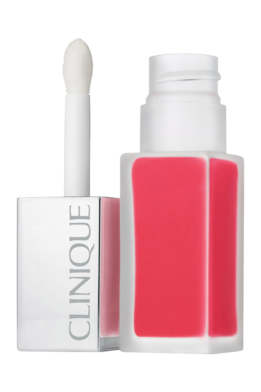 Blissim : Clinique - Rouge à lèvres laque fini mat + base lissante Clinique Pop™ - Ripe Pop