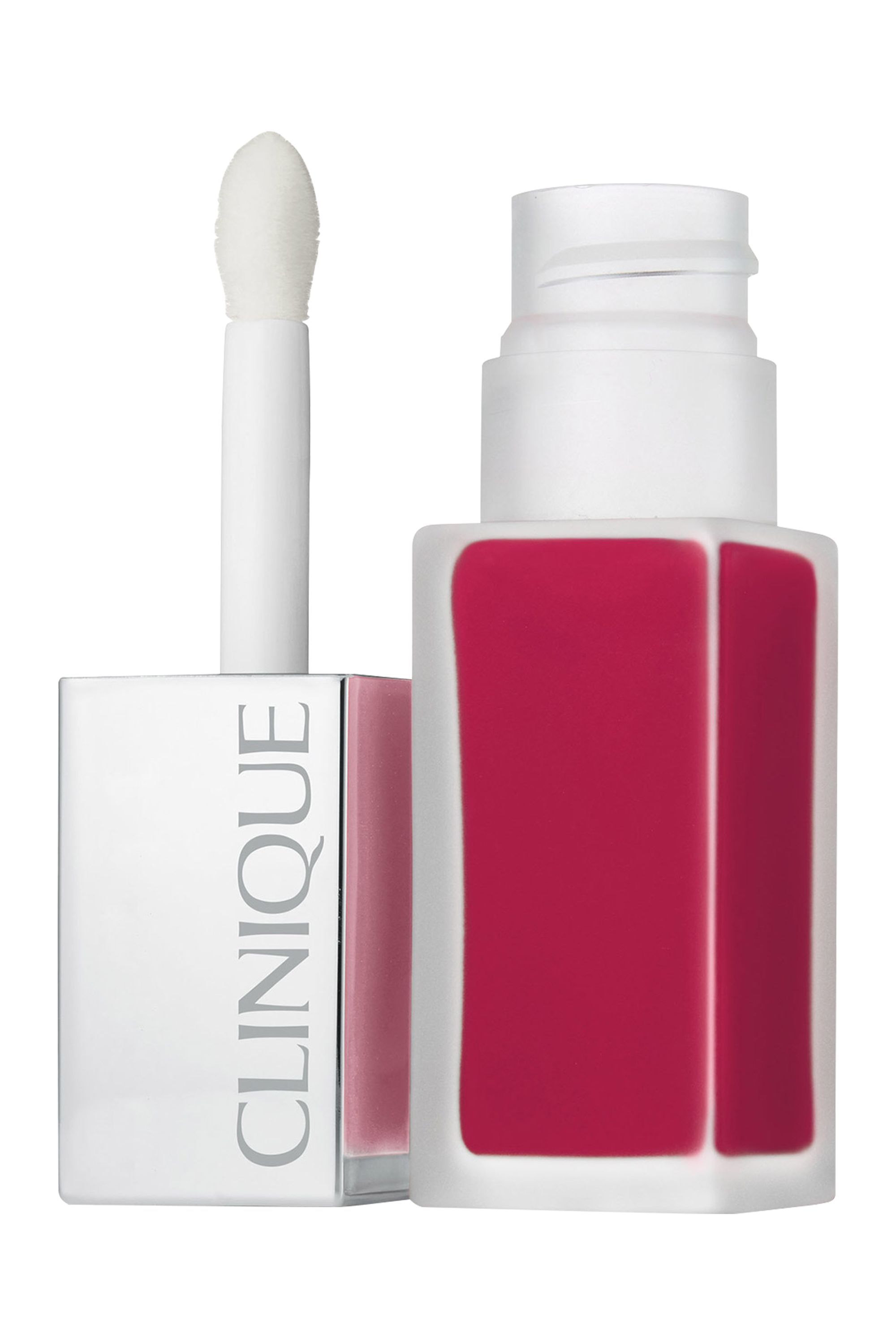 Blissim : Clinique - Rouge à lèvres laque fini mat + base lissante Clinique Pop™ - Sweetheart Pop