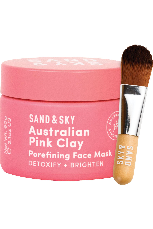 Blissim : Sand & Sky - Masque réducteur de pores Australian Pink Clay - Masque réducteur de pores Australian Pink Clay