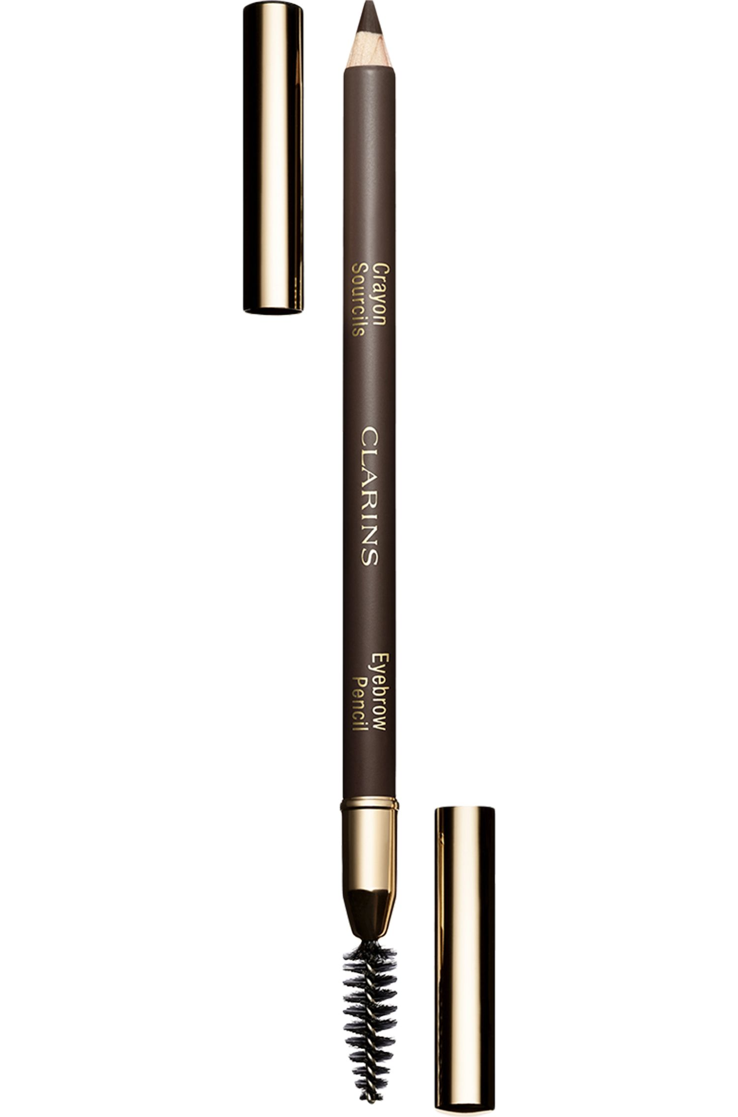 Blissim : Clarins - Crayon sourcils double embout brosse - 02 Light Brown