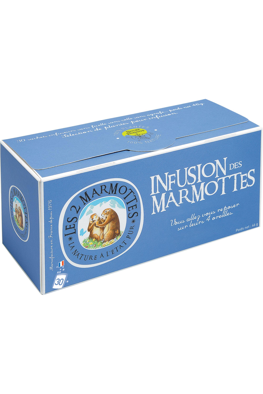 Blissim : Les 2 Marmottes - Infusion des Marmottes – 30 sachets - Infusion des Marmottes – 30 sachets