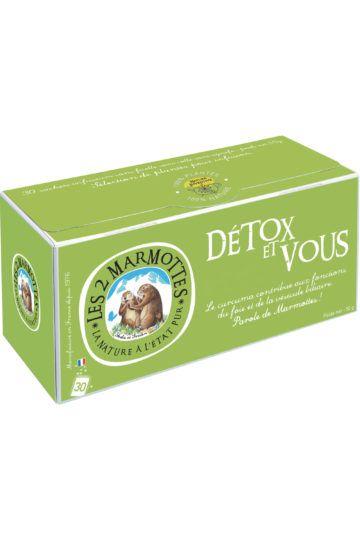 Infusion Détox et Vous - 30 sachets