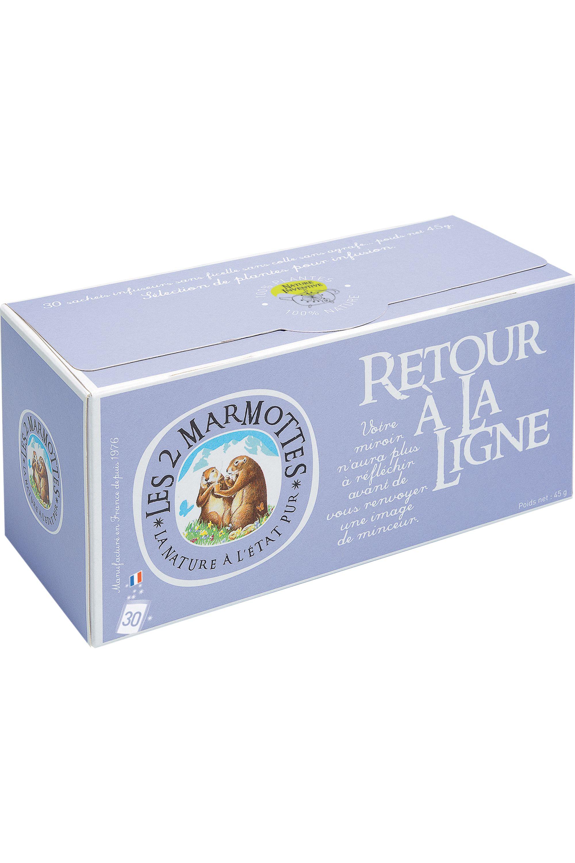 Blissim : Les 2 Marmottes - Infusion Retour à la Ligne – 30 sachets - Infusion Retour à la Ligne – 30 sachets