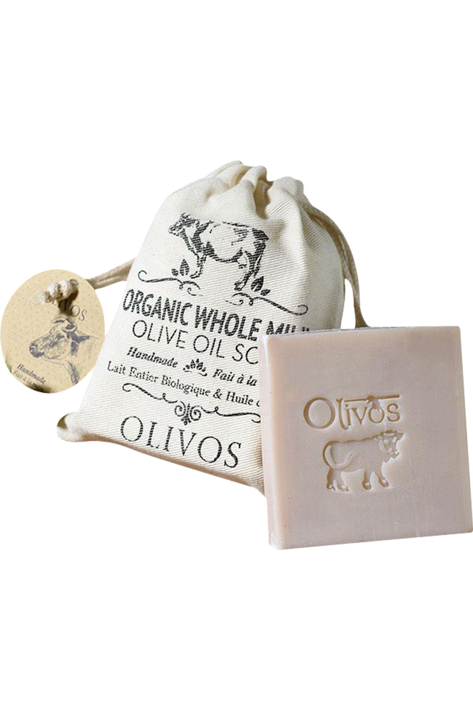 Blissim : Olivos - Savon au lait entier bio et à l'huile d'olive - Savon au lait entier bio et à l'huile d'olive