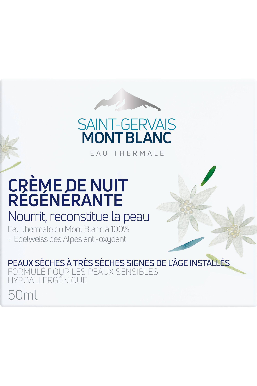 Blissim : Saint-Gervais Mont Blanc - Crème de nuit régénérante - Crème de nuit régénérante