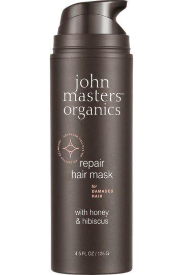 Masque pour cheveux abîmés au miel et à l'hibiscus