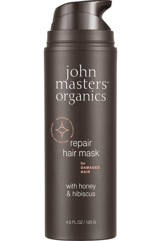 Blissim : John Masters Organics - Masque pour cheveux abîmés au miel et à l'hibiscus - Masque pour cheveux abîmés au miel et à l'hibiscus