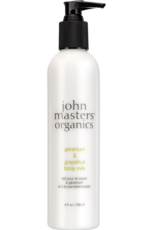 Blissim : John Masters Organics - Lait corps au Géranium et au Pamplemousse - Lait corps au Géranium et au Pamplemousse