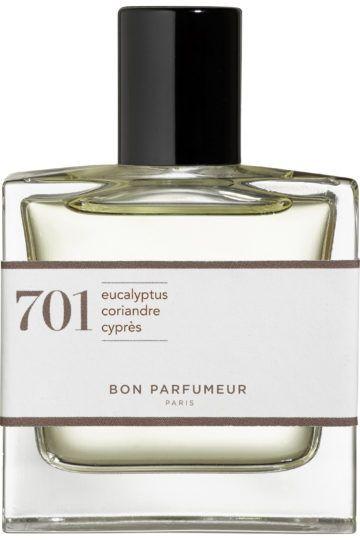 Eau de Parfum 701 Eucalyptus Ambre Bois Blanc
