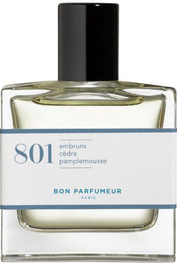 Eau de Parfum 801 Embruns Cèdre Pamplemousse