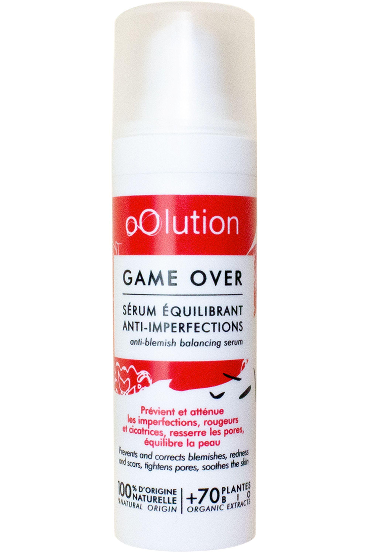 Blissim : Oolution - Sérum équilibrant anti-imperfections bio Game Over - Sérum équilibrant anti-imperfections bio Game Over