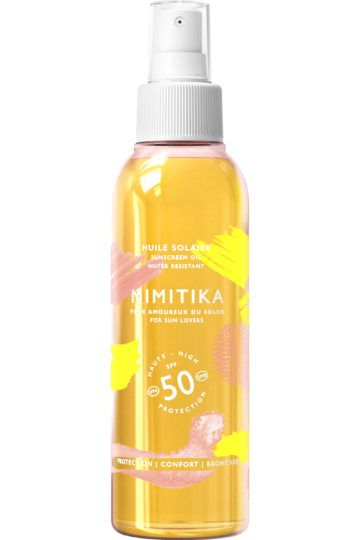 Huile solaire protectrice corps SPF 50