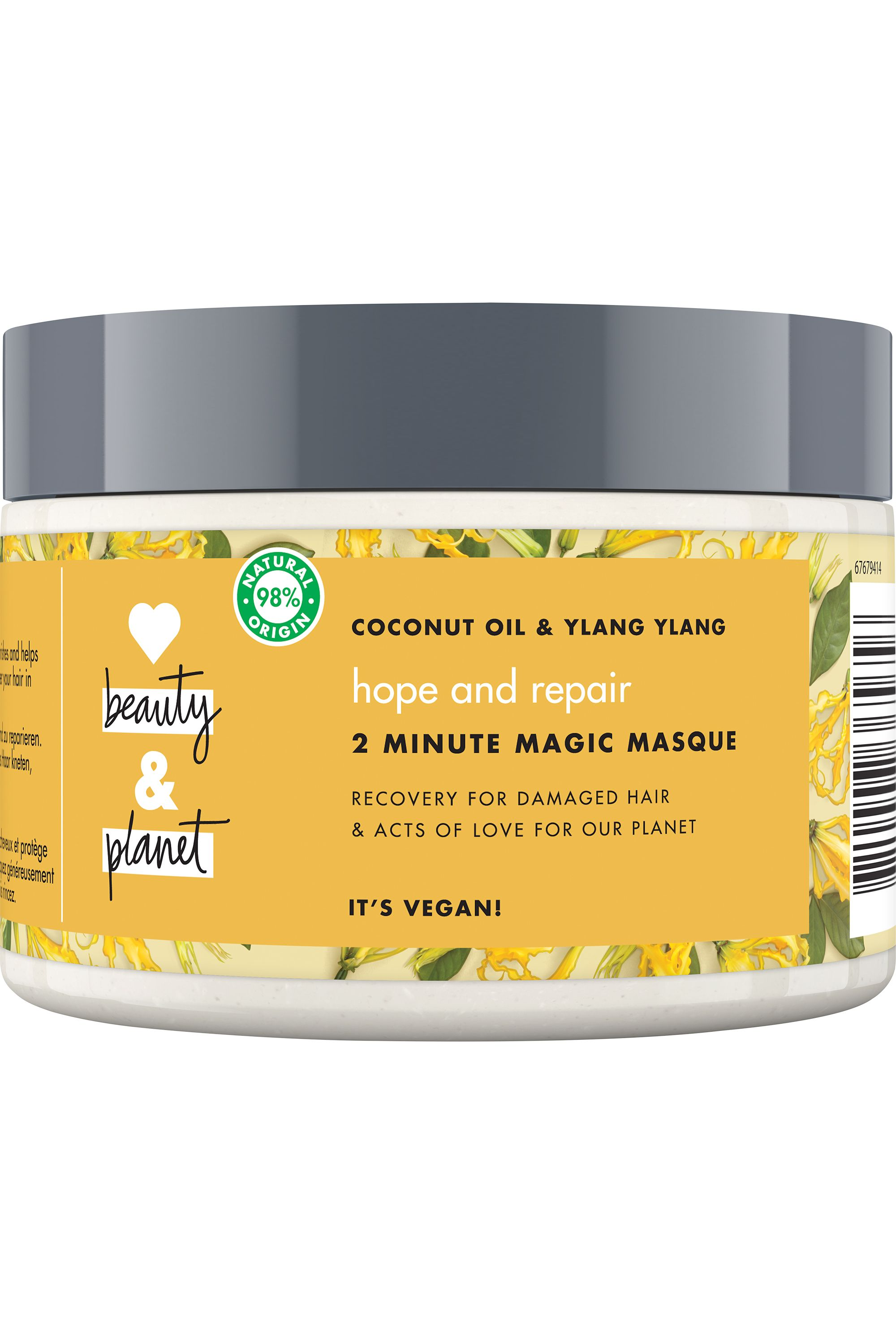 Blissim : Love Beauty and Planet - Masque cheveux Oasis Réparatrice - Masque cheveux Oasis Réparatrice