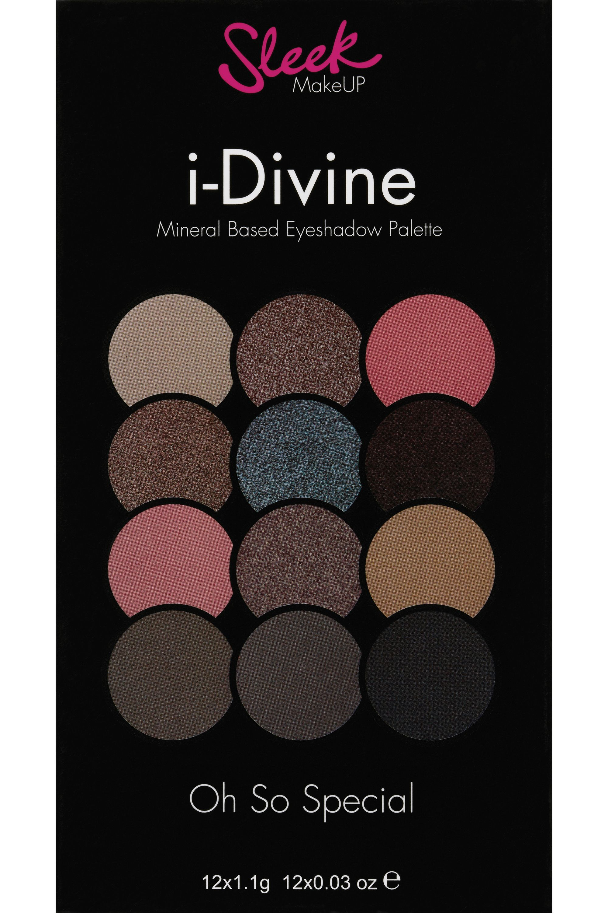 Blissim : Sleek MakeUP - Palette de fards à paupières i-Divine - Oh So Special