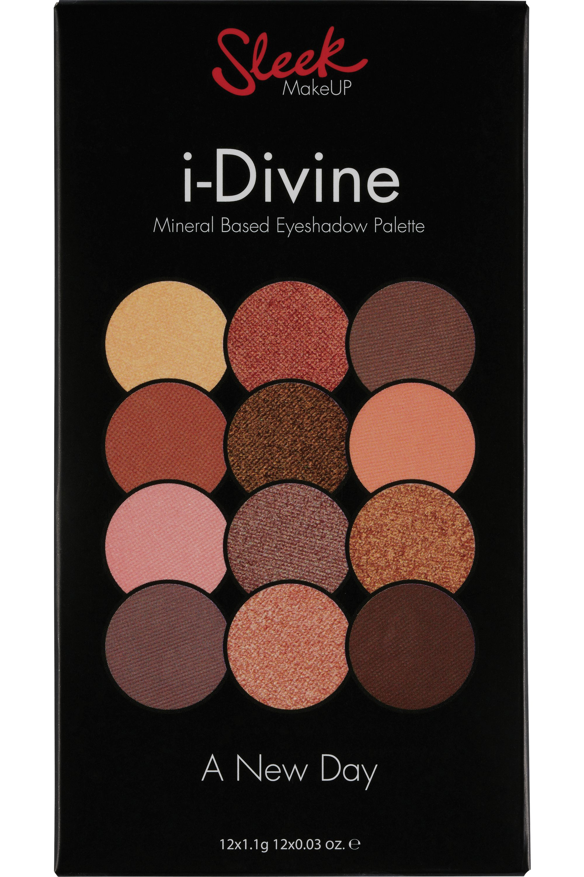 Blissim : Sleek MakeUP - Palette de fards à paupières i-Divine - A New Day