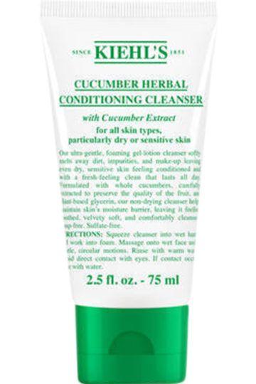 Gel moussant nettoyant visage sans savon aux extraits de concombre