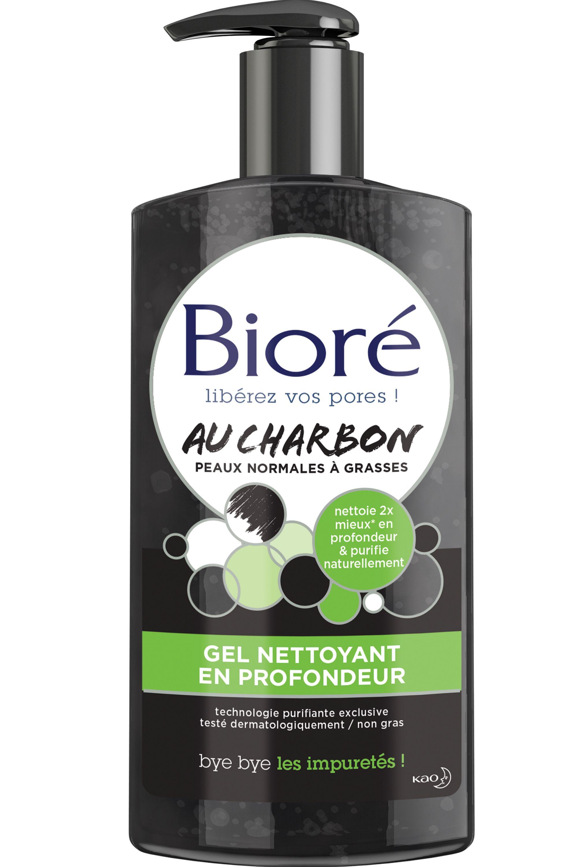 Blissim : Bioré - Gel nettoyant en profondeur au charbon - Gel nettoyant en profondeur au charbon