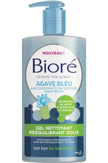 Gel nettoyant rééquilibrant doux à l'agave bleu