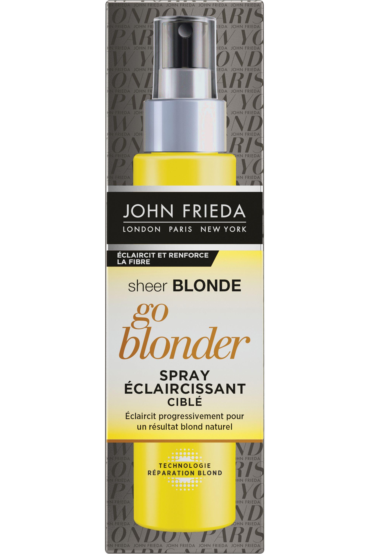 Blissim : John Frieda - Spray éclaircissant go blonder Sheer Blonde - Spray éclaircissant go blonder Sheer Blonde