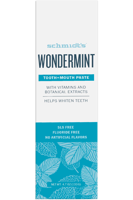Blissim : Schmidt's - Dentifrice Menthe Intense - Dentifrice Menthe Intense