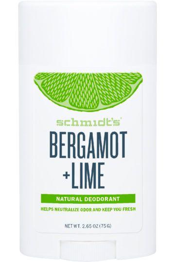 Déodorant Stick Bergamote et Citron Vert