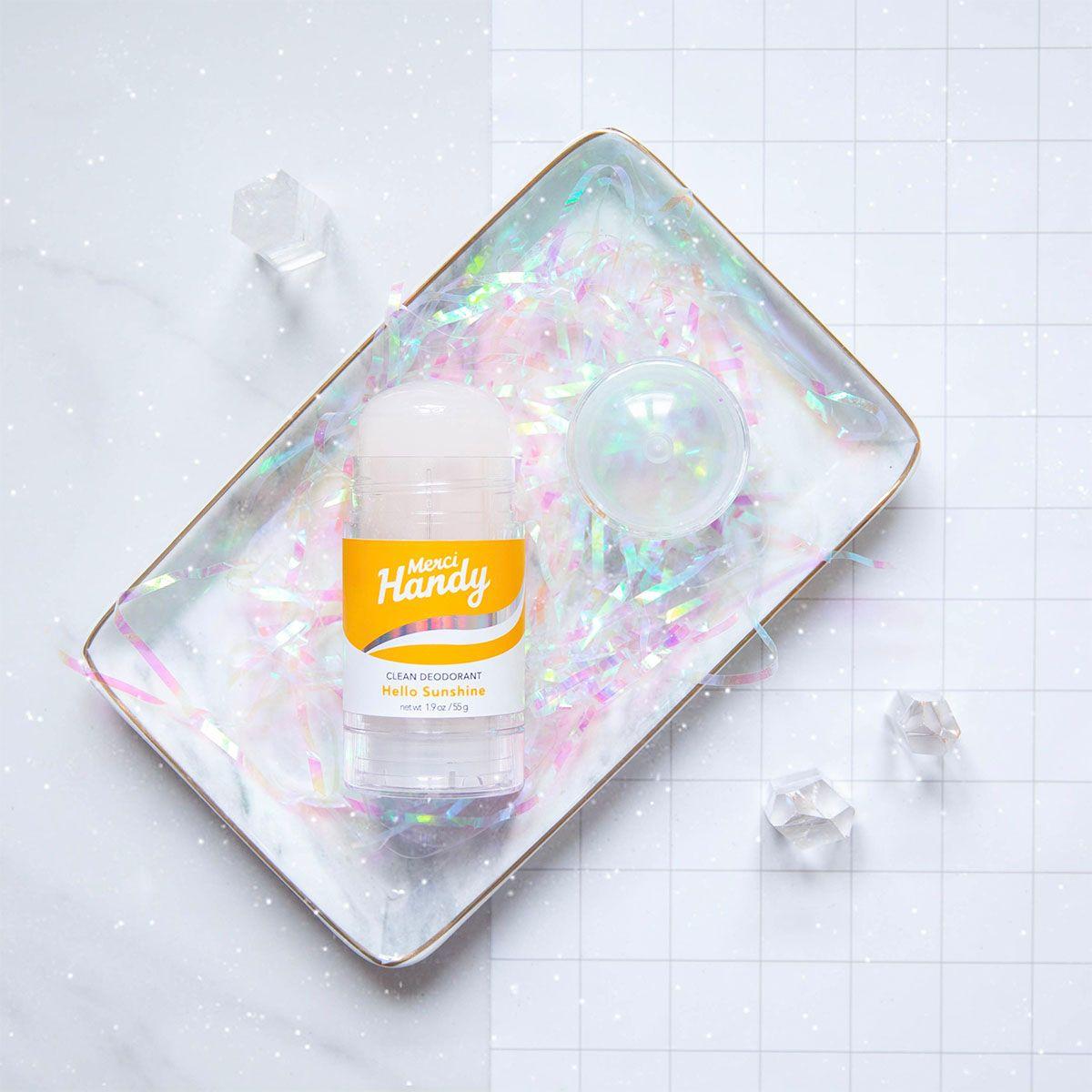 Blissim : Merci Handy - Déodorant Clean - Hello Sunshine