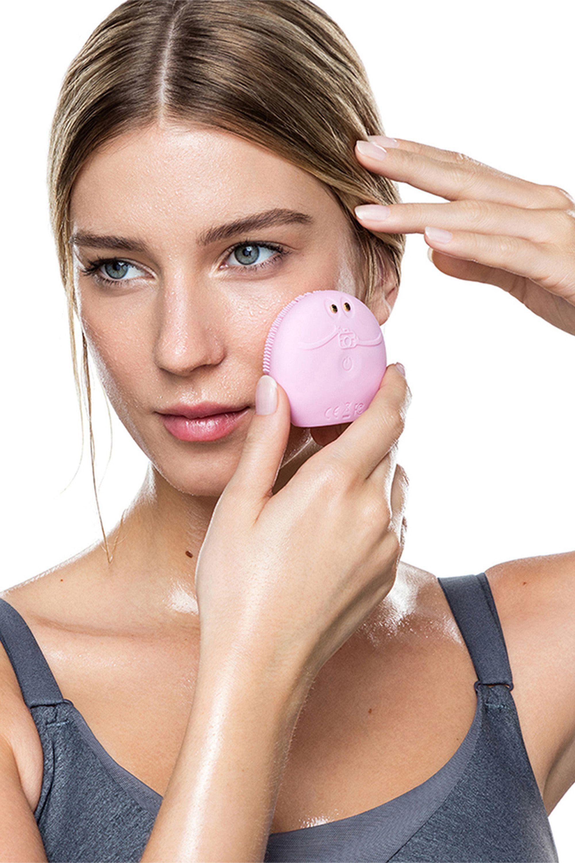 Blissim : Foreo - Brosse nettoyante intelligente visage LUNA fofo - Pearl Pink