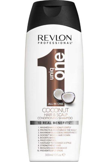 Shampoing 10-en-1 cheveux et cuir chevelu Uniq One Noix de Coco