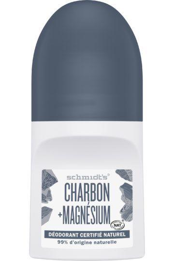 Déodorant Roll-On Charbon et Magnésium