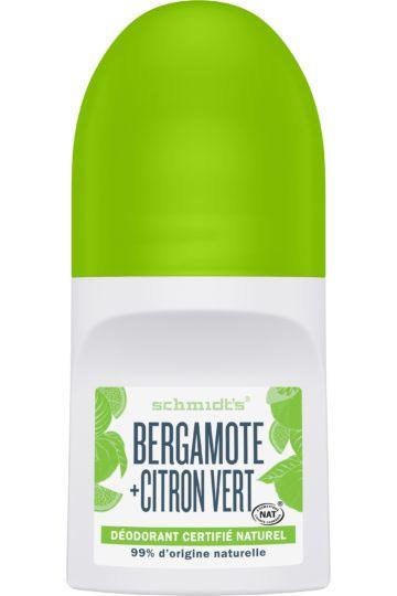 Déodorant Roll-On Bergamote et Citron