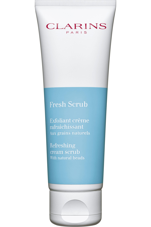 Blissim : Clarins - Exfoliant crème Fresh Scrub pour peaux sèches - Exfoliant crème Fresh Scrub pour peaux sèches