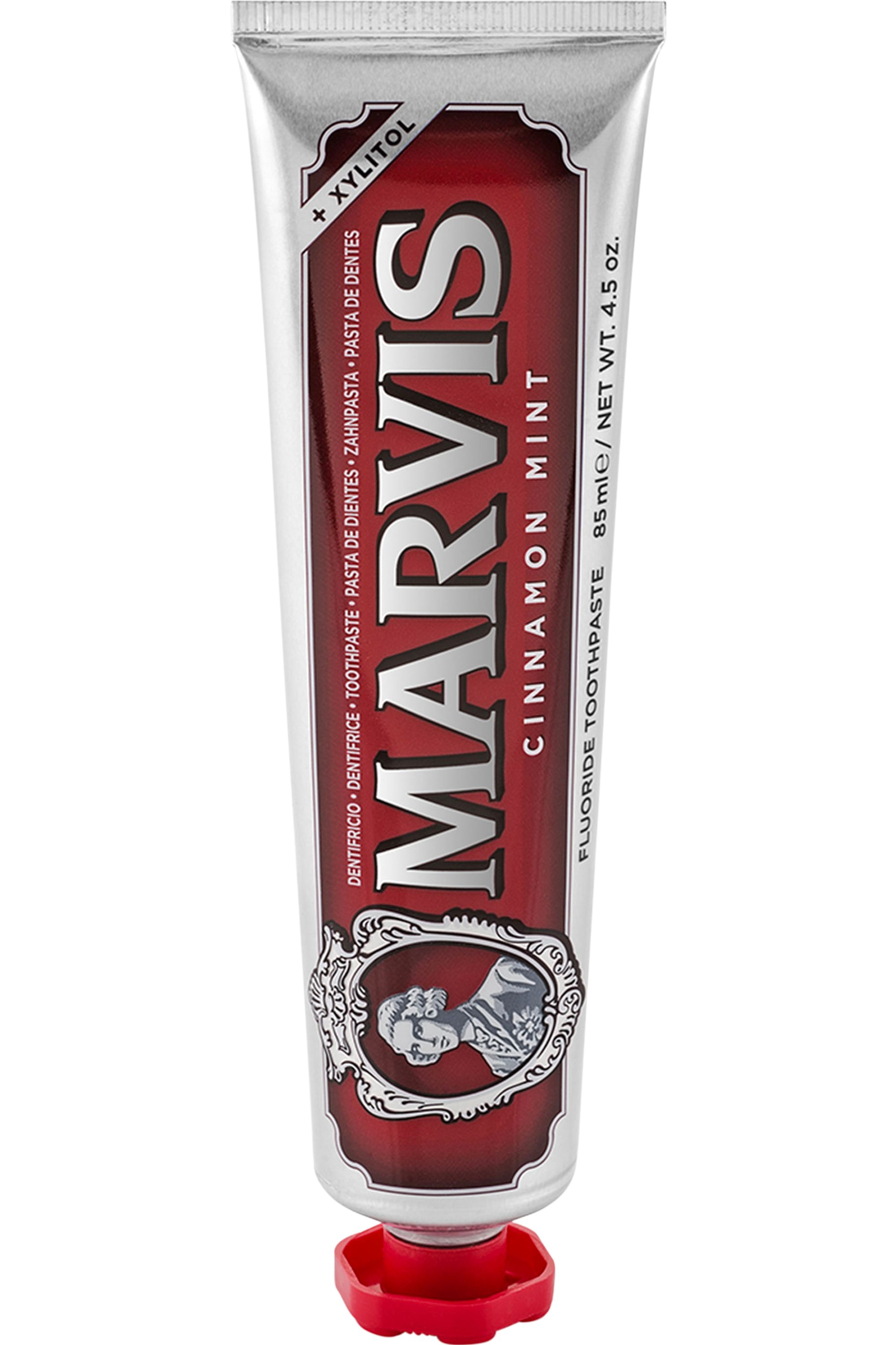 Blissim : Marvis - Dentifrice Menthe & Cannelle Rouge - 85 ml