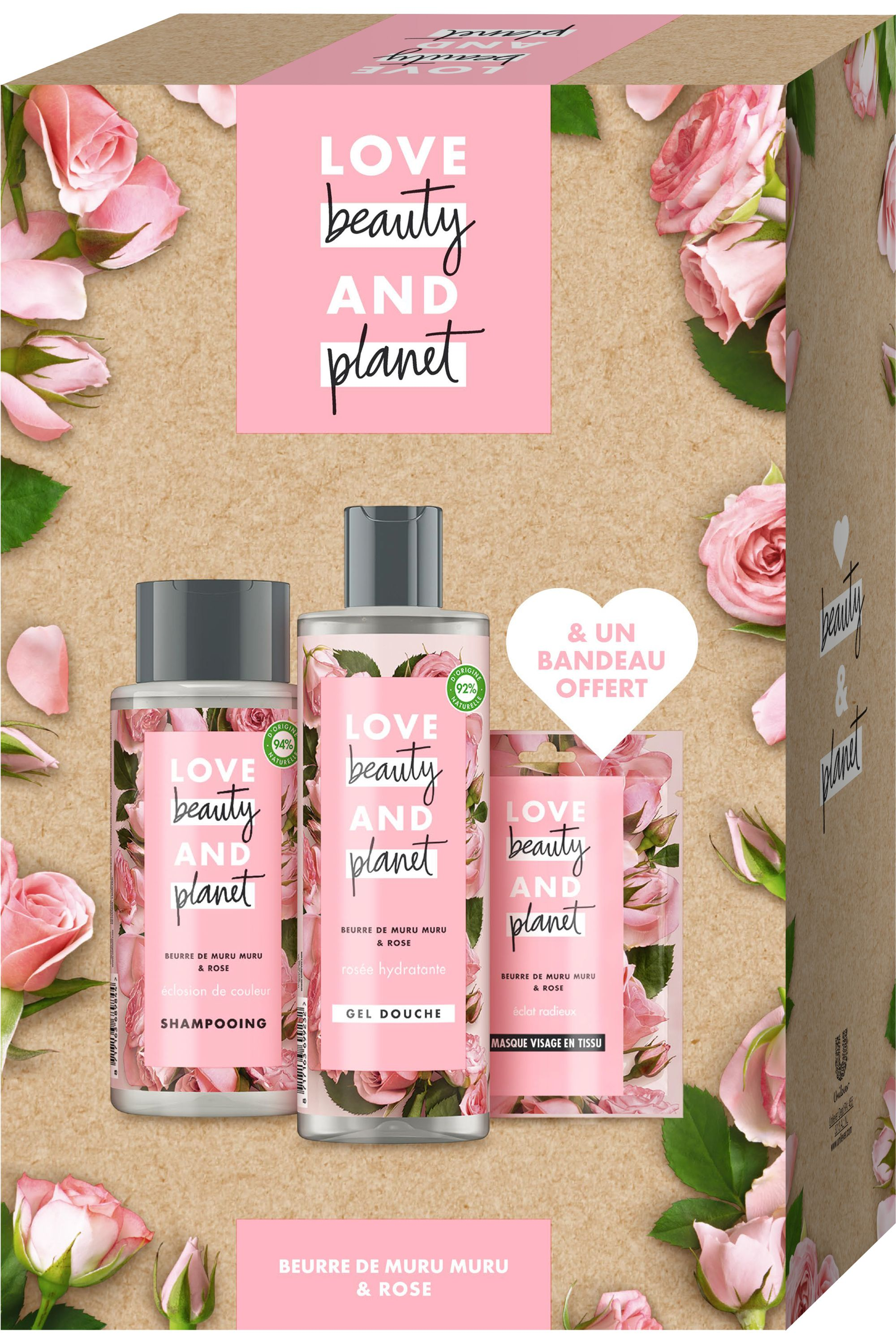 Blissim : Love Beauty and Planet - Coffret Éclosion de couleur - Coffret Éclosion de couleur