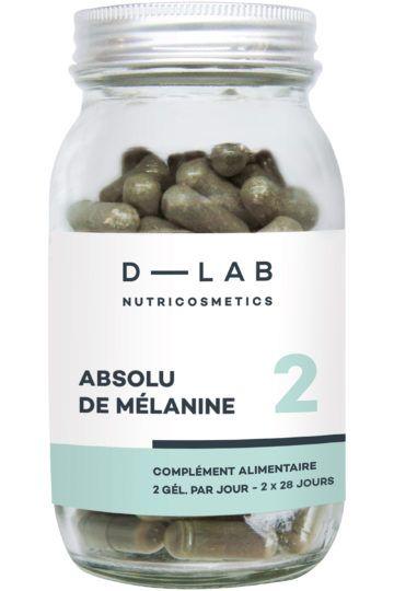 Compléments alimentaires prévention cheveux blancs Absolu de Mélanine