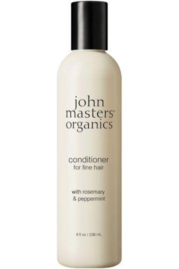 Après-shampoing pour cheveux fins romarin et menthe poivrée