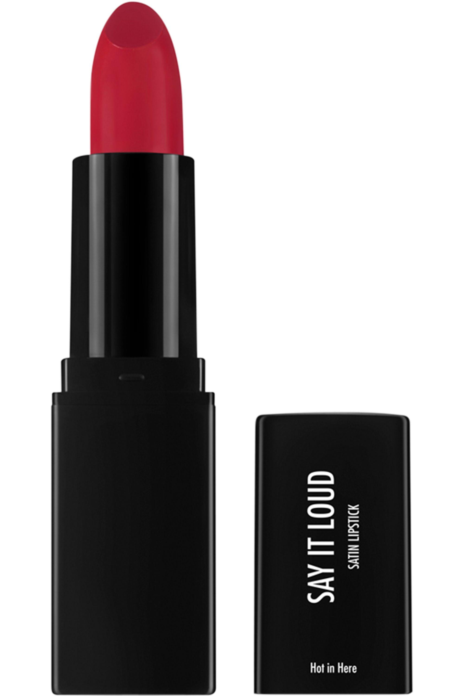 Blissim : Sleek MakeUP - Rouge à Lèvres satiné Say it Loud - Hot in Here