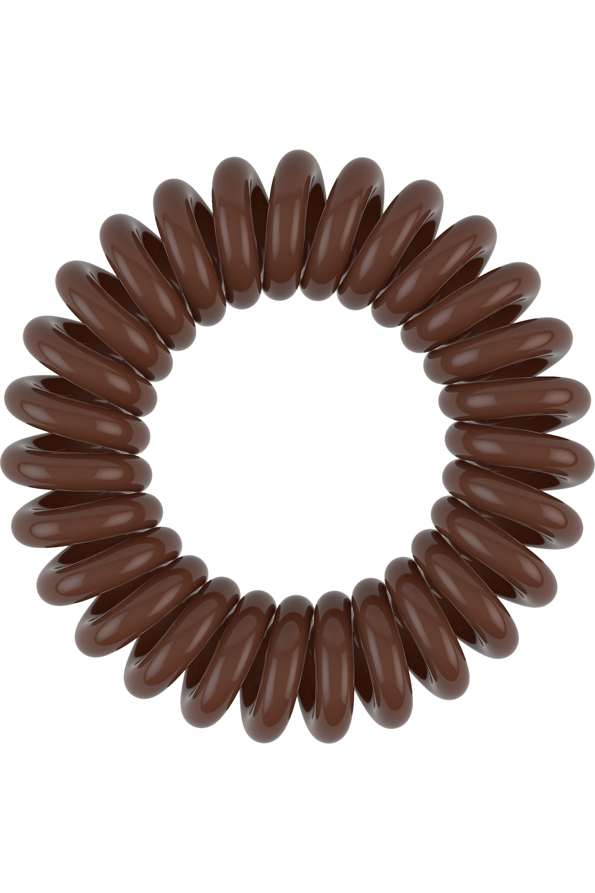 Blissim : Invisibobble - Elastiques cheveux invisible Power - Power Pretzel Brown