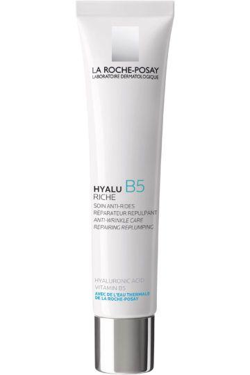 Crème hydratante anti-rides riche à l'acide hyaluronique et vitamine B5 Hyalu B5