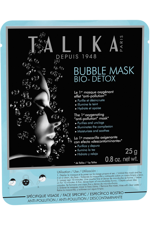 Blissim : Talika - Masque oxygénant au charbon de bambou effet anti-pollution Bubble Mask Bio-Detox - Masque oxygénant au charbon de bambou effet anti-pollution Bubble Mask Bio-Detox
