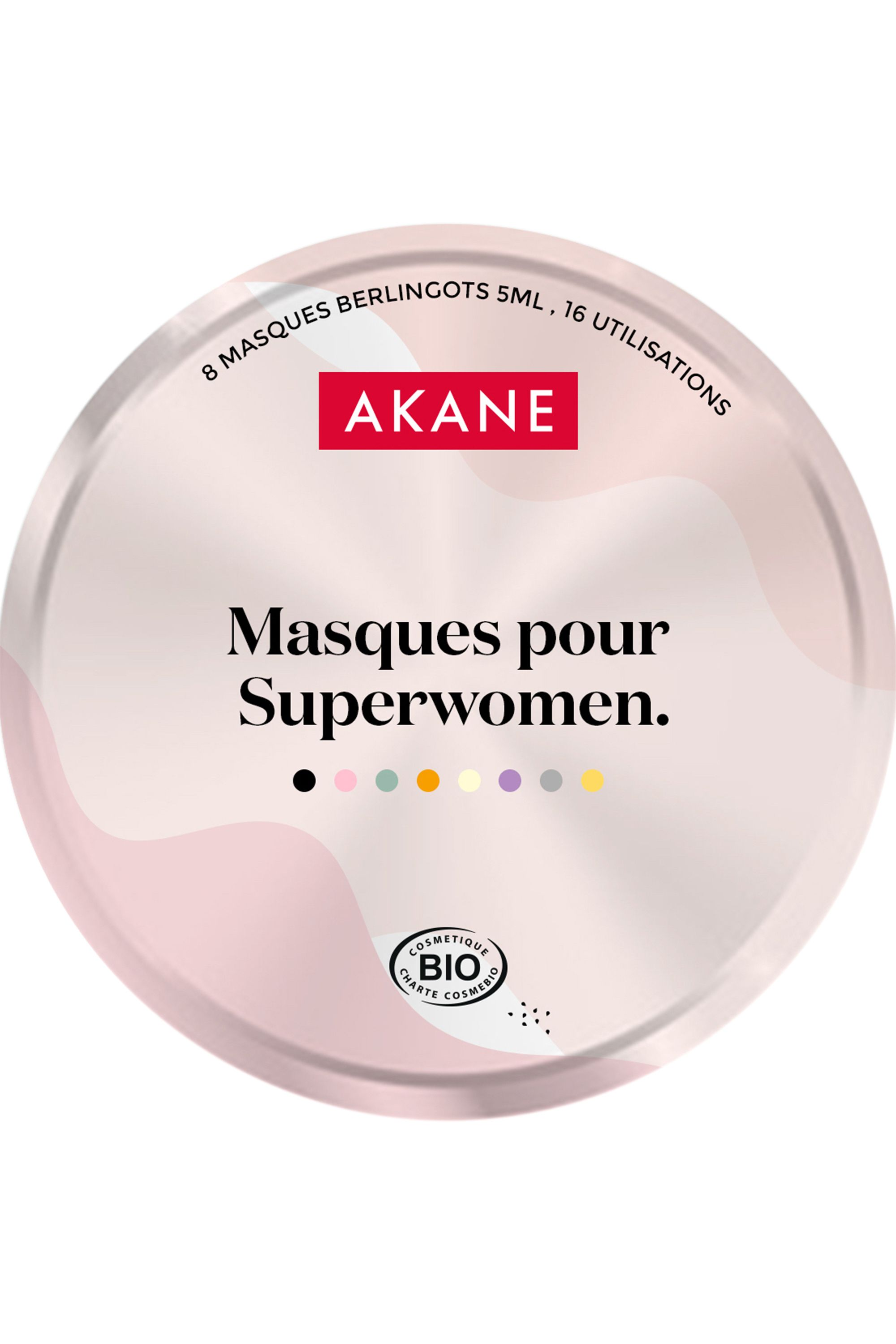 Blissim : Akane - Coffret multi-masques - Coffret multi-masques