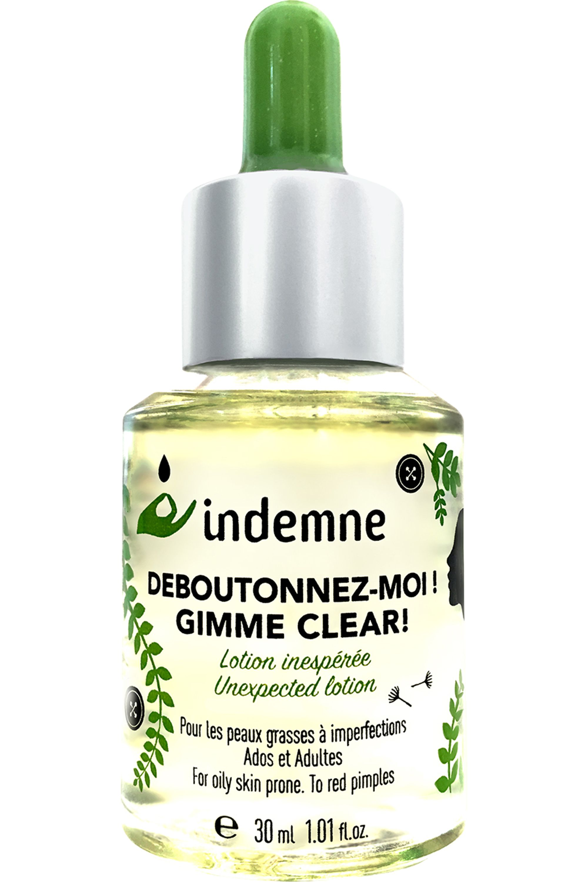 Blissim : Indemne - Soin anti-imperfections Déboutonnez-moi - Soin anti-imperfections Déboutonnez-moi