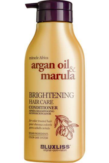 Après-shampoing illuminateur à l'huile d'argan