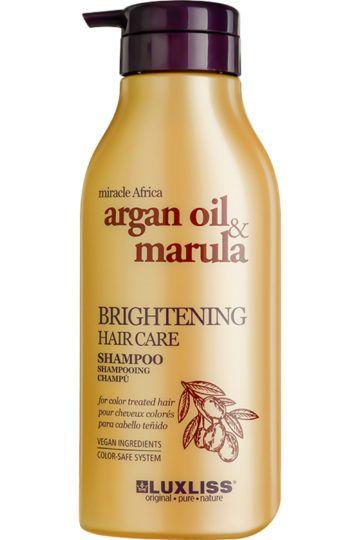 Shampoing illuminateur à l'huile d'argan