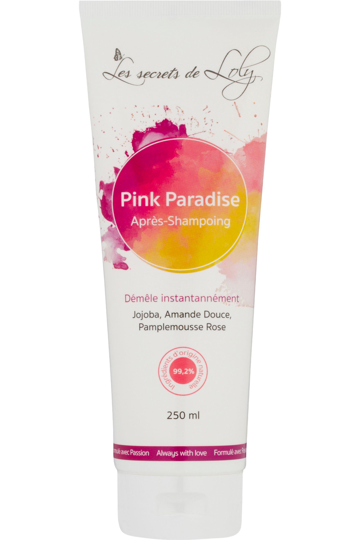 Blissim : Les Secrets de Loly - Après-shampoing démêlant Pink Paradise - Après-shampoing démêlant Pink Paradise