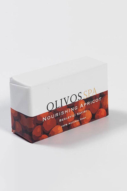 Blissim : Olivos - Savon solide nourrissant à l'abricot - Savon solide nourrissant à l'abricot