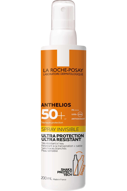 Blissim : La Roche-Posay - Crème solaire spray invisible corps SPF50+ avec parfum Anthelios - Crème solaire spray invisible corps SPF50+ avec parfum Anthelios